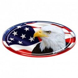 "USA Oval ""Eagle Head"" Decal"