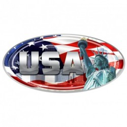 "USA Oval ""Liberty"" Decal"