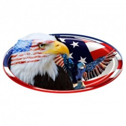 "USA Oval ""2 Eagles"" Decal"