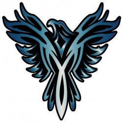 Phoenix TEAL Sticker