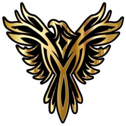 Phoenix GOLD Sticker