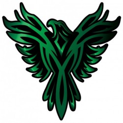 Phoenix GREEN Sticker
