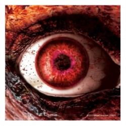 Bloody Zombie Eye Sticker