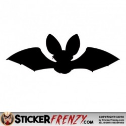 Bat 007 Decal