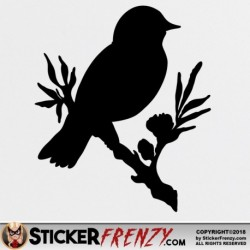 Bird Branch 001 Decal