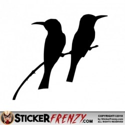 Bird Branch 002 Decal