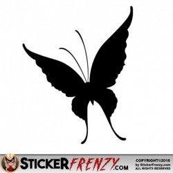 Butterfly 002 Decal