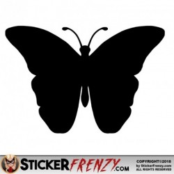 Butterfly 003 Decal