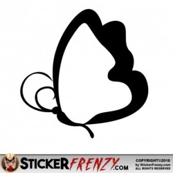 Butterfly 008 Decal