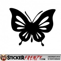Butterfly 009 Decal
