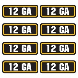 12ga Ammo Stickers