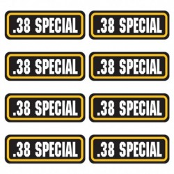 .38 Special Ammo Stickers