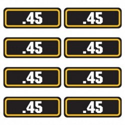 .45 Ammo Stickers