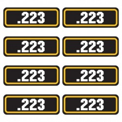 .223 Ammo Stickers