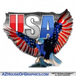 Eagle USA Sticker