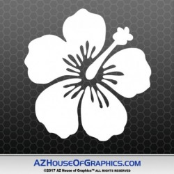 hibiscus-decal