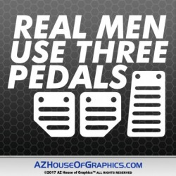 real-men-3-pedals-decal