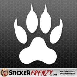 Cat Paw Print Decal