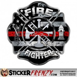FS2024 Fire Fighter Thin Red Cross